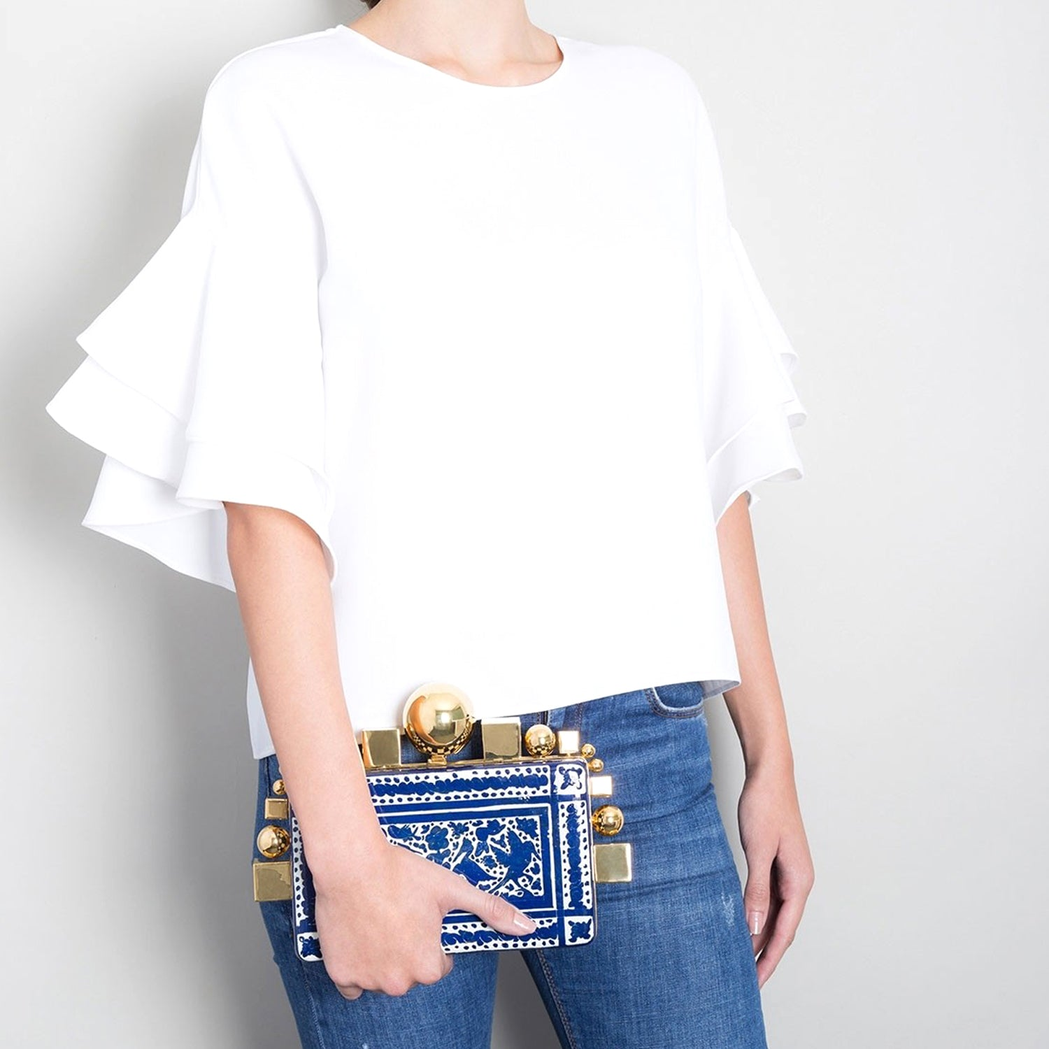 Olinalá Jewel Clutch by Daniel Espinosa