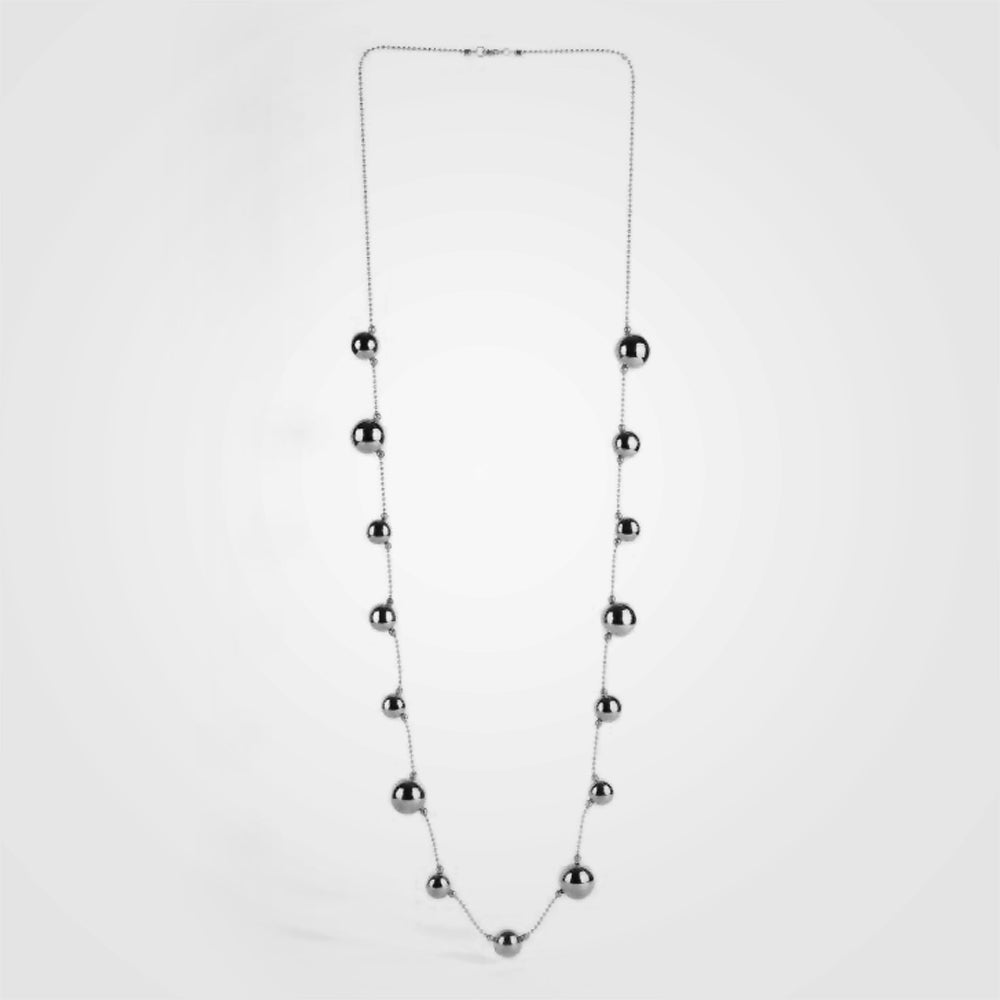 Cherry Collection Silver Necklace by Daniel Espinosa