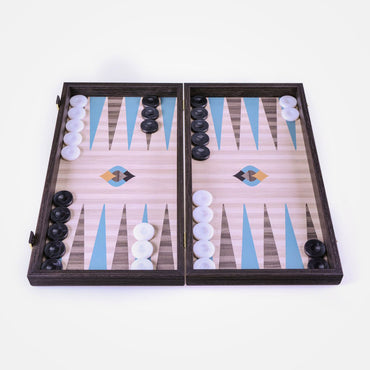 Embroidered Arabseque Art Backgammon Set by Manopoulos