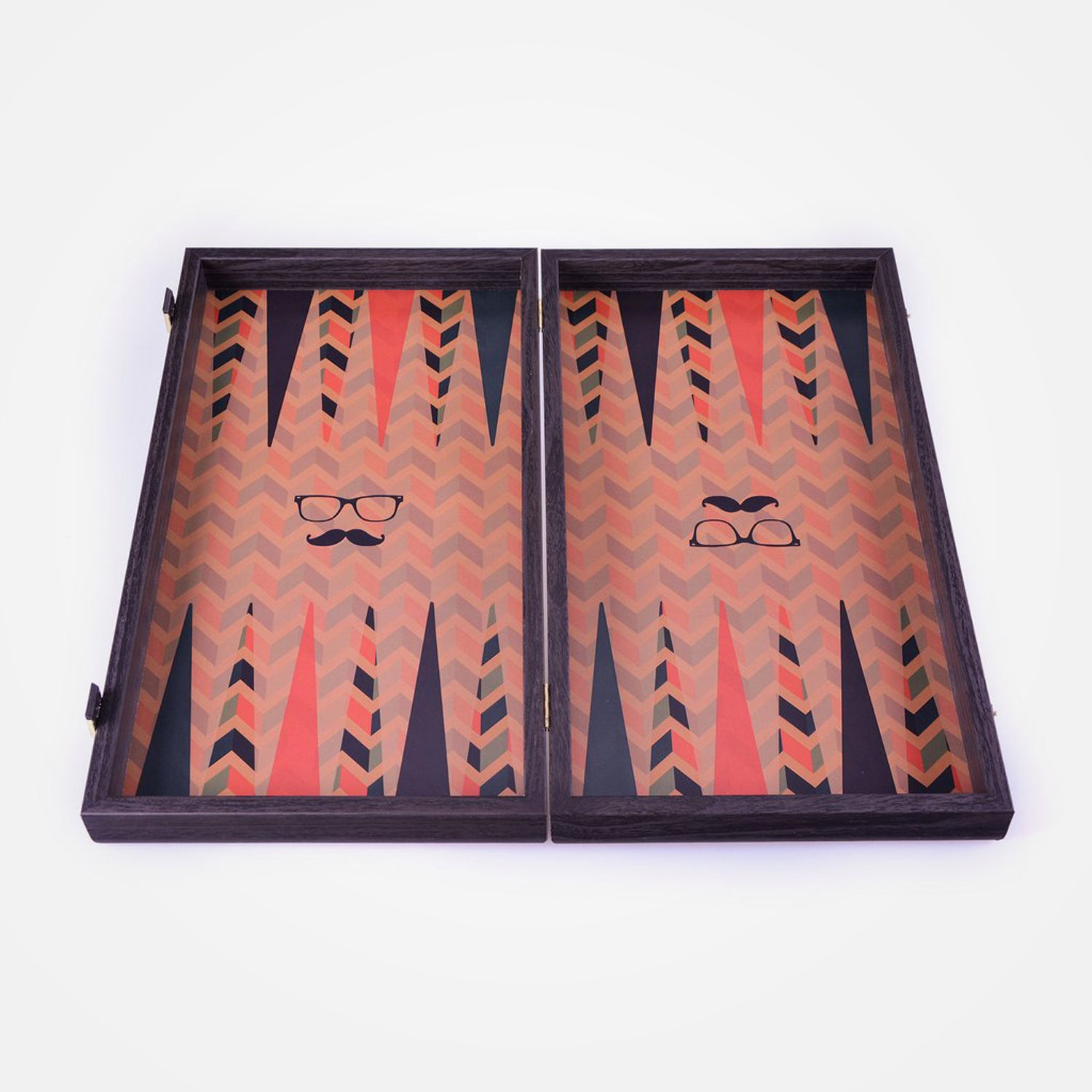 Hipster Style Backgammon Set by Manopoulos