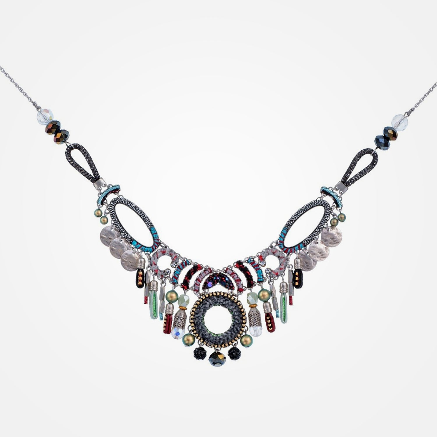 Handmade Ocean Drift Aurora Necklace by JAI