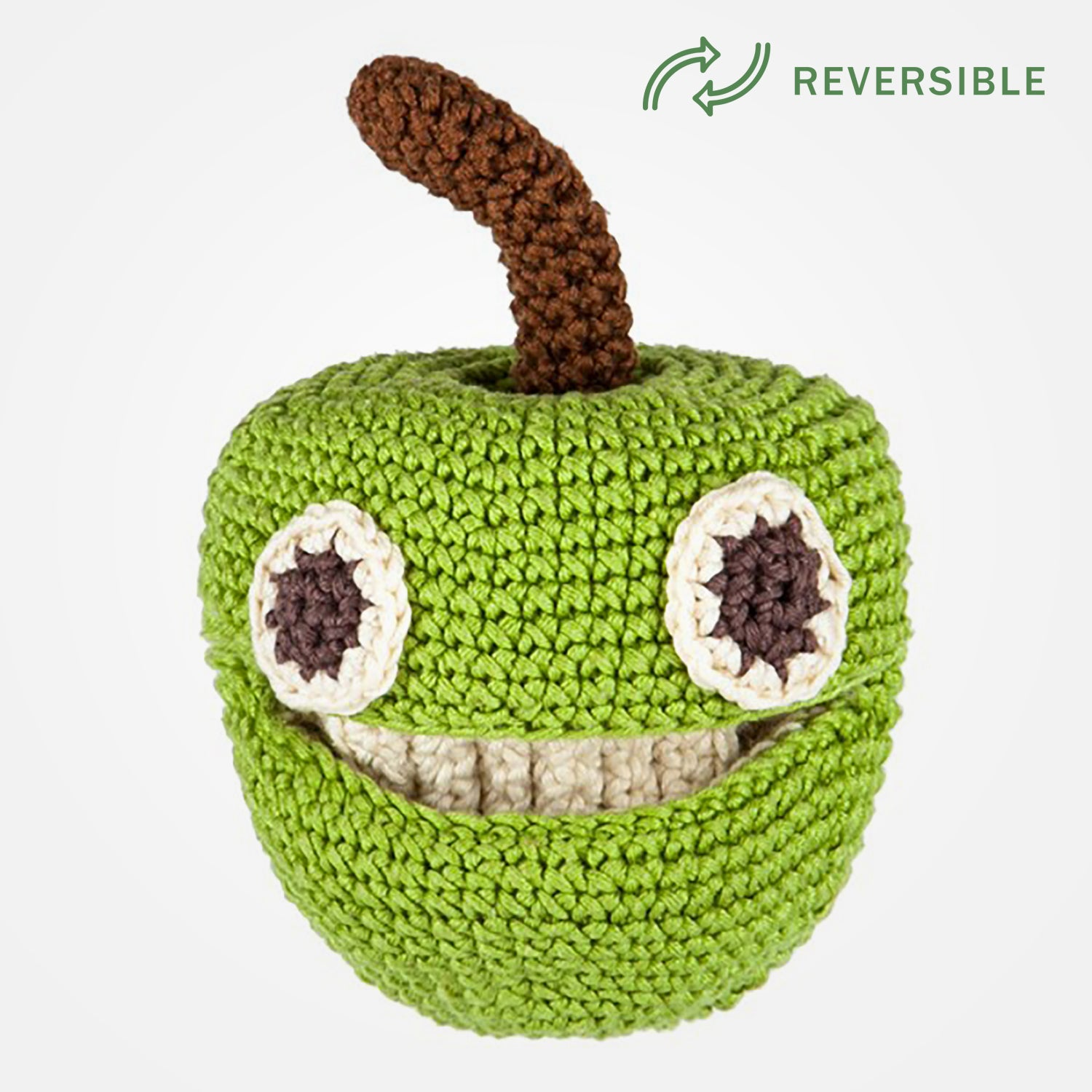 Alice The Apple (Reversible) - Organic Soft Toy by MyuM