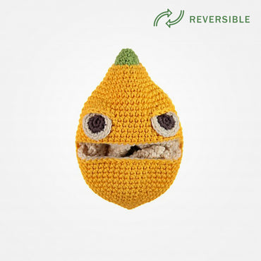 John Lemon (Reversible) - Organic Soft Toy by MyuM