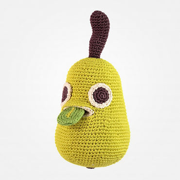 Perry The Pear Musical Organic Soft Toy by MyuM