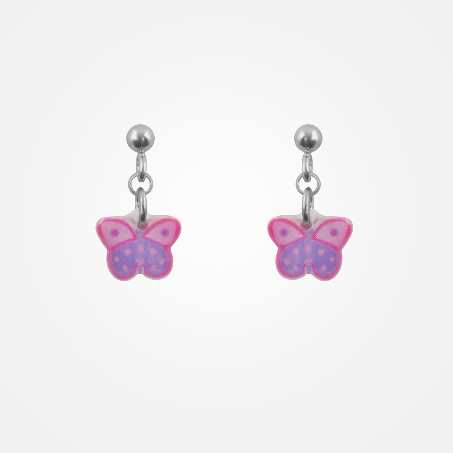 Hanging Butterfly Earrings by Ribambelle