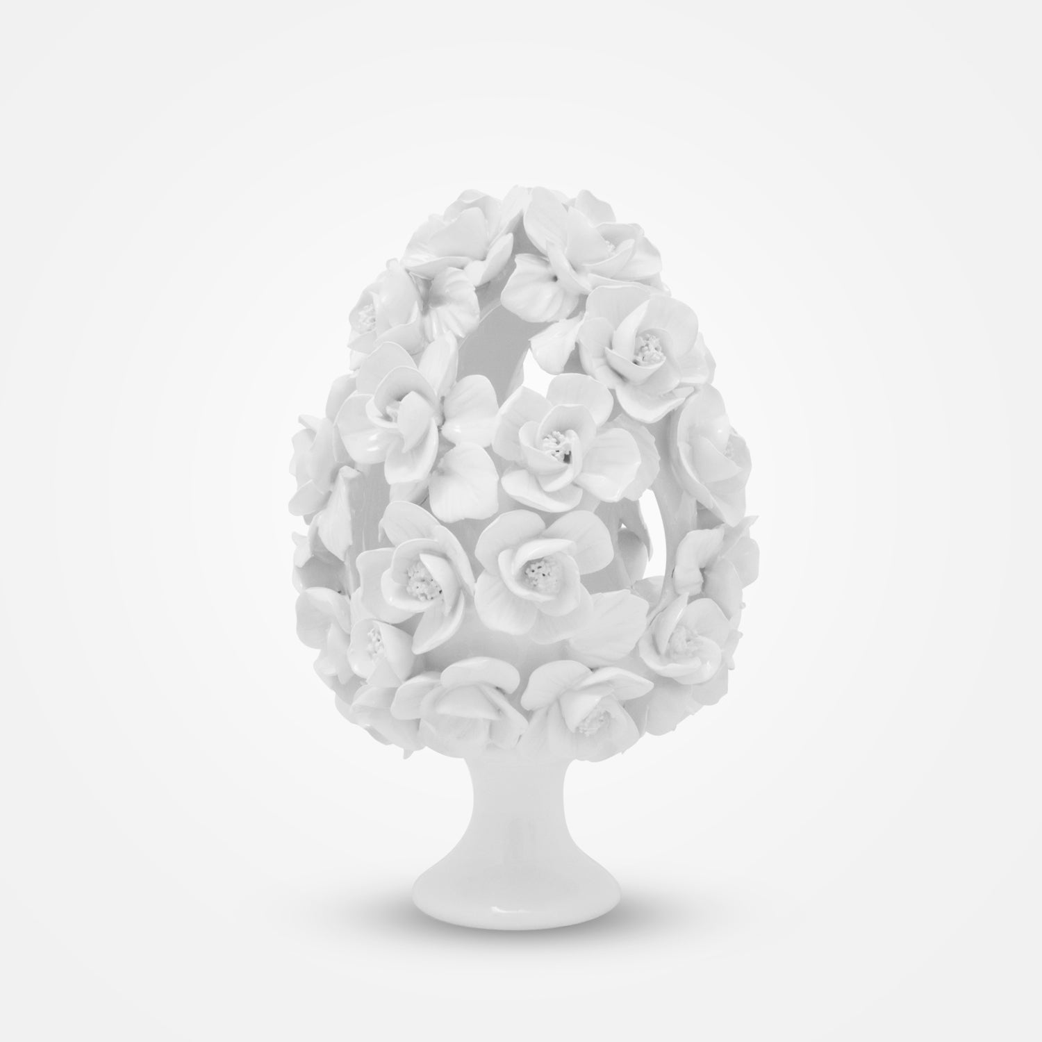 The Enchanting Flowers Ceramic Centerpiece by I. Borbone