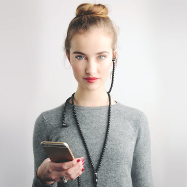 'the black one' Unisex Fashion Headsets