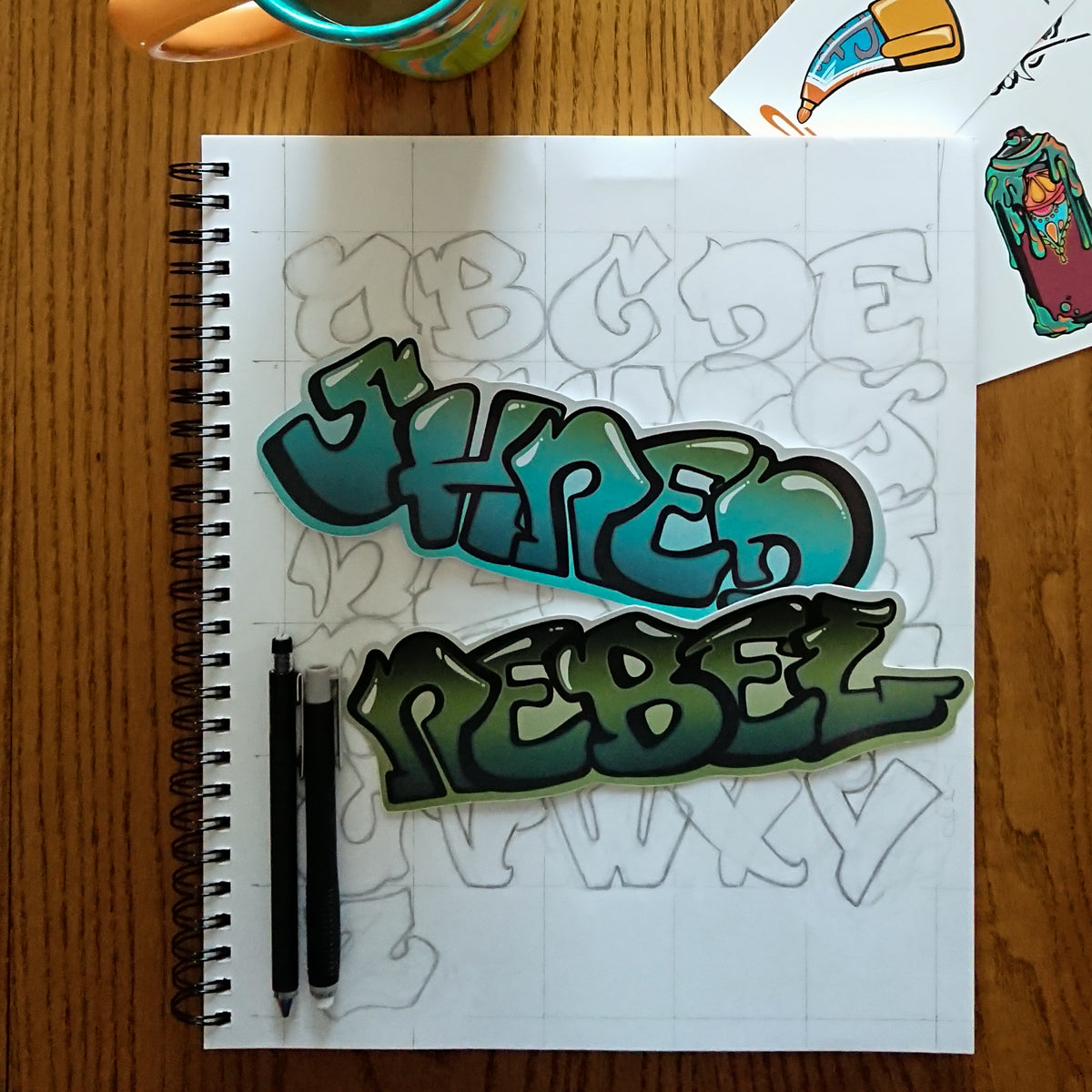 REBEL :: Sticker Collection