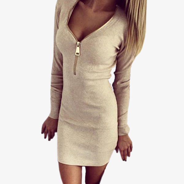 Zip-up Kim Dress