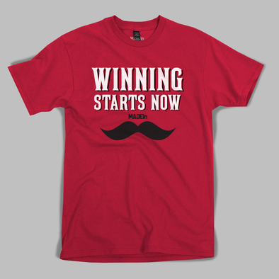 WINNING STARTS NOW (Red)