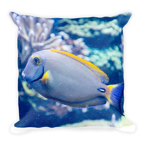 Ocean Inspired Square Pillow