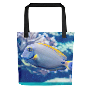 Ocean Inspired Underwater Fish Tote Bag