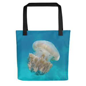 Ocean Inspired Jellyfish Tote Bag