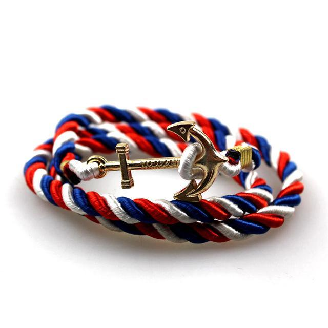 Ocean's Origin Anchor Bracelet