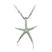 Ocean Glimmer Starfish Necklace