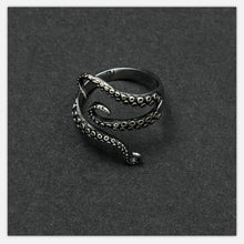 mystic cool Vintage Octopus Ring