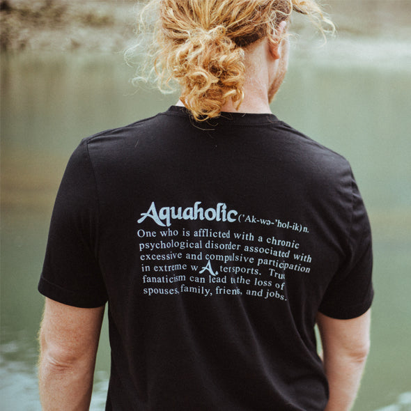 Aquaholic Men's Aqua Roger Tee