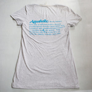 Aquaholic Women's Group Sex Tee