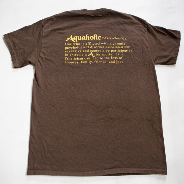 Aquaholic Men's Rasta Tee 100% cotton