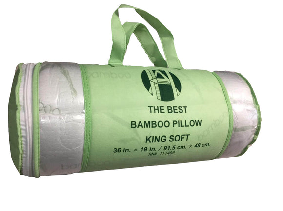 Bamboo Pillow Queen Sage