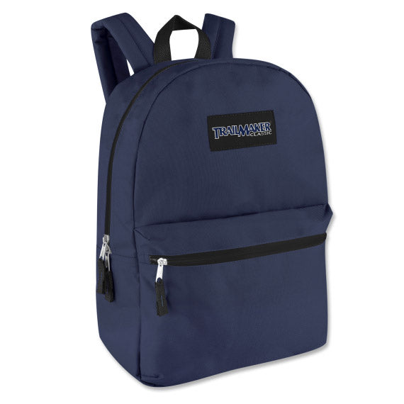 Backpack Trailmaker Classic 17 Inch Navy Blue