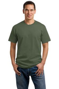 T-Shirt: Adult S: Plain: Olive Green