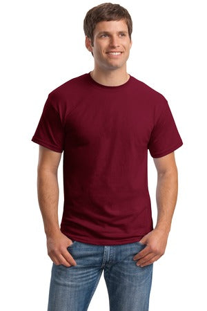 T-Shirt: Adult L: Plain: Burgandy