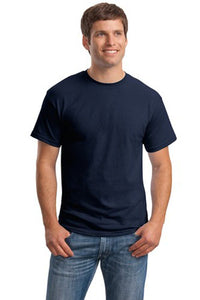 T-Shirt: Adult 2XL: Plain: Navy Blue