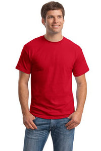 T-Shirt: Adult L: Plain: Red