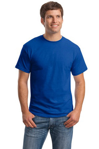 T-Shirt: Adult S: Plain: Royal Blue