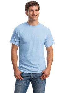 T-Shirt: Adult 3XL: Plain: Light Blue