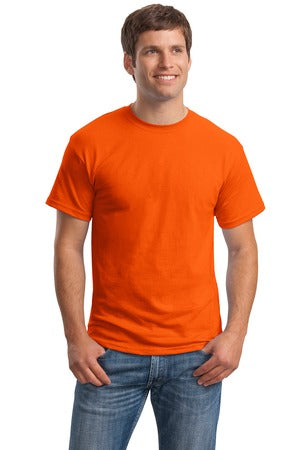 T-Shirt: Adult 3XL: Plain: Orange