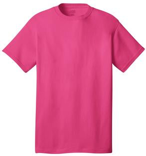 T-Shirt: Adult XL: Plain: Sangria Pink