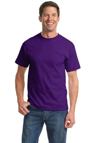 T-Shirt: Adult 2XL: Plain: Purple