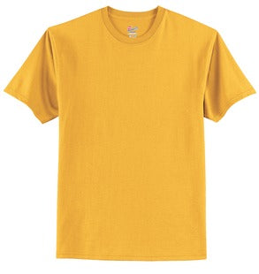 T-Shirt: Youth XS: Plain: Gold