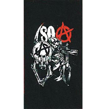 Beach Towel- Sons Of Anarchy - Reaper Crystal Ball 1413