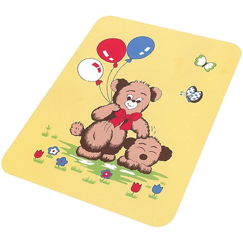 Blanket Baby 50x60365 Bear w-Balloons T31 Yellow