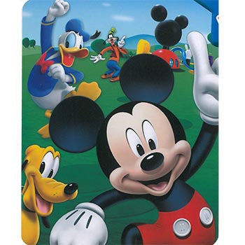 Blanket 60x80 Cartoon  Mickey Mouse - Playhouse