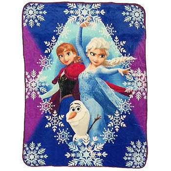 Blanket 60x80 Cartoon  Princess Frozen - Diamond