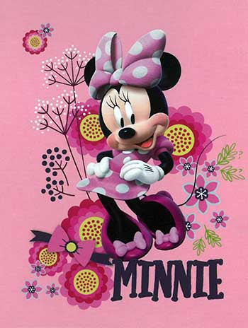 Blanket 60x80 Cartoon  Minnie Mouse - Just Minnie