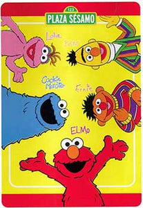 Blanket 60x80 Cartoon Sesame Street ABC Elmo Big Bird Cookie Moster Oscar