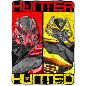 Blanket 60x80 Cartoon  Transformers - Hunter Hunted