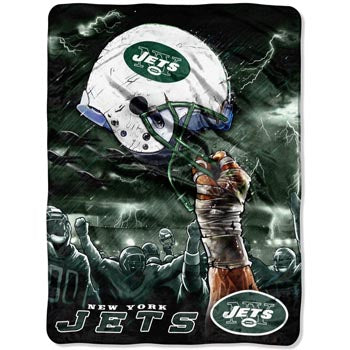 Blanket 60x80 NFL New York Jets - Sky Helmet