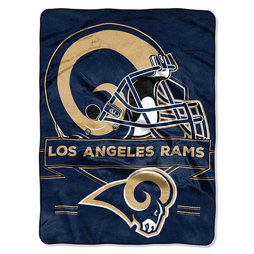 Blanket 60x80 NFL Los Angeles Rams Prestige
