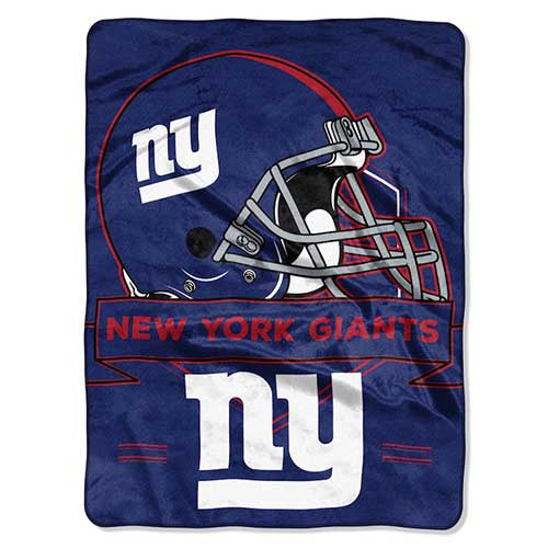 Blanket 60x80 NFL New York Giants - Prestige