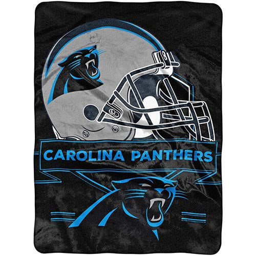 Blanket 60x80 NFL Carolina Panthers Prestige