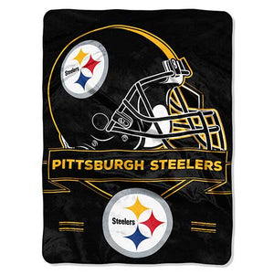 Blanket 60x80 NFL Pittsburgh Steelers - Prestige