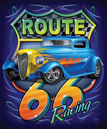 Blanket Queen - Car Ct - Signature Select JQ Route 66 Racing