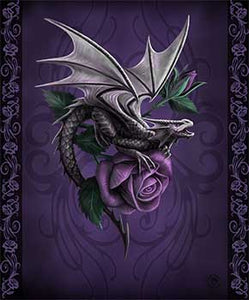 Blanket Queen Dragon Ct - Signature Select Dragon Beauty Purple