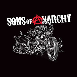 Blanket Queen- Sons Of Anarchy Reaper Motorcycle Signature Select